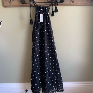 Black and white pattered Old Navy dress